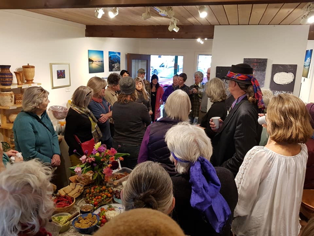 Chimera Gallery, October 2018.  Thank you to all who attended. Your support, commiseration and commitment to our environmental challenges will continue to inspire.