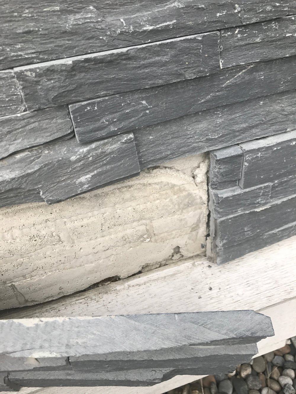 I had a small area of stone come off of my house. Labas Construction got the job done fast at a decent price.