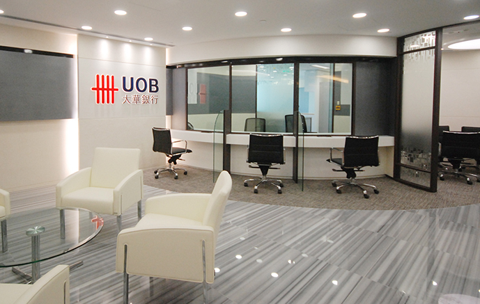 UOB Tsim Sha Tsui, 7,000 sq. ft. Kwun Tong, 10,000 sq. ft.