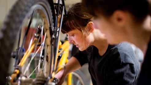 CYKELKÖKET - Serva, laga, renovera eller bygg cyklar