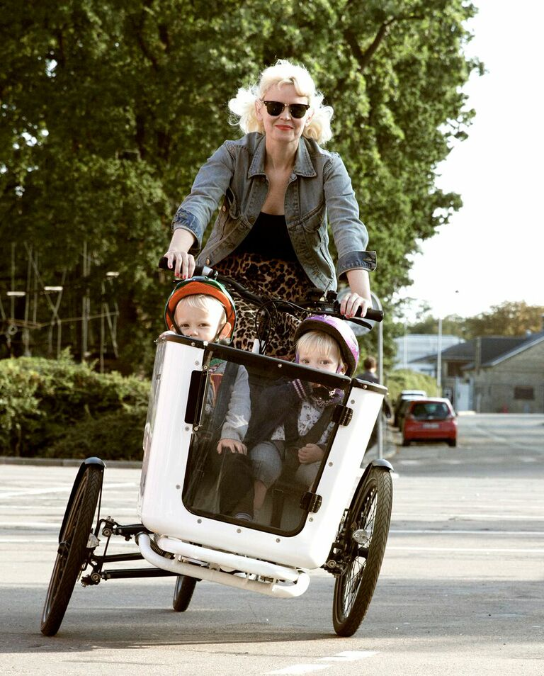 Cykelbiblioteket - Try, and borrow an electric or a cargo bike