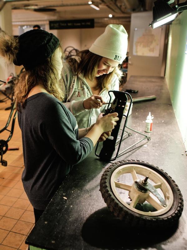 Cykelköket - Fix, mend, renovate or build bikes