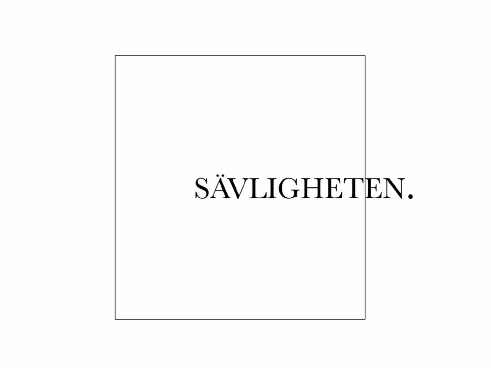 Sävligheten (SWE) - Sävligheten is a publishing house and a record label based in Malmö, Sweden. Our aim is to combine two fields of art that seldom mix: music and poetry. By offering a selection of carefully handpicked poets and musicians and presenting it together in the form of a zine and casette, we believe a conceptual feeling will emerge. Although the pieces weren't created for each other, something happens when they are combined.By: Felix Sjöblom