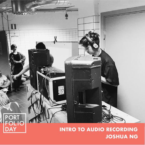 (FULLY BOOKED, REGISTER FOR WAITLIST)    EVENT TIME: 16.00 - 17.00   Recording good audio is a process that takes patience, a smart set up and an understanding of how to operate equipment. Learn the basics of audio recording in this quick crash course. We will be working with Logic Pro X and Garageband for this workshop so if you have these programs all the better.  Joshua Ng is a project leader at STPLN and is a self-taught digital and analog audio recording engineer  Spots limited to 5 seats