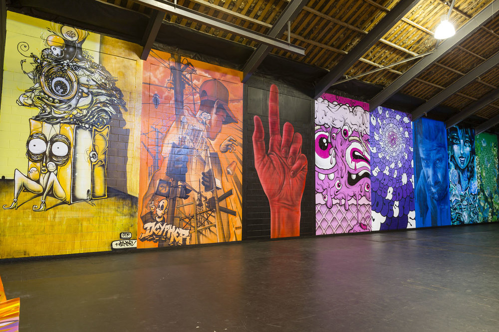 Headline Artists installation, Spectrum 2015 Christchurch – credit Luke Shirlaw