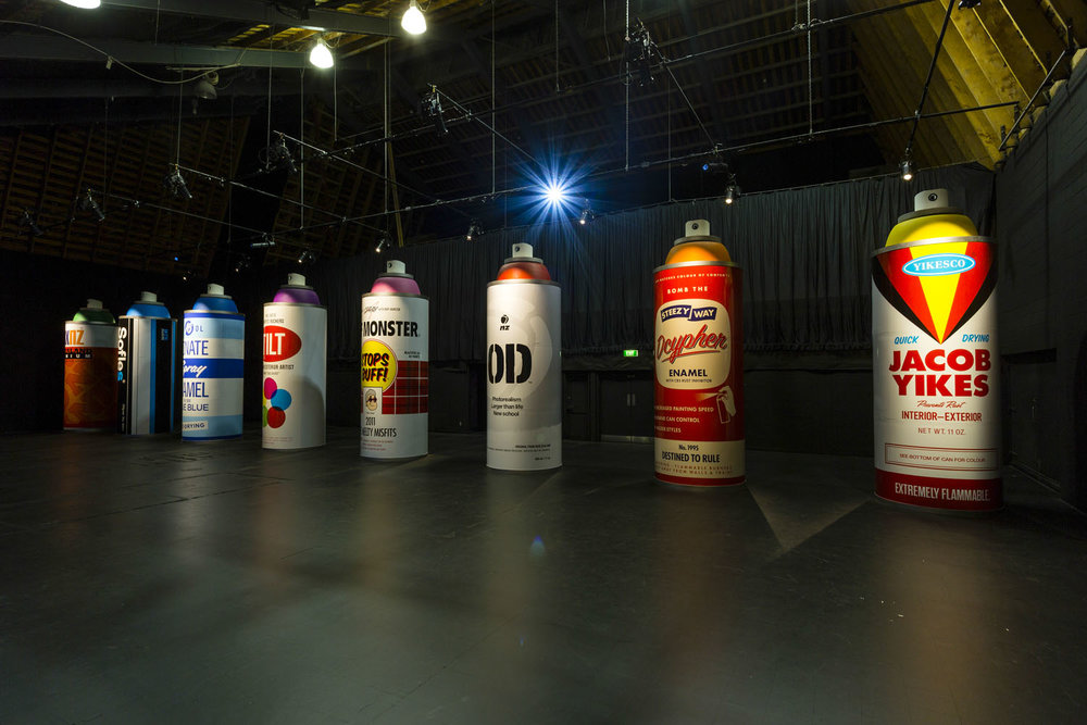 Headline Artists installation 3, Spectrum 2015 Christchurch – credit Luke Shirlaw