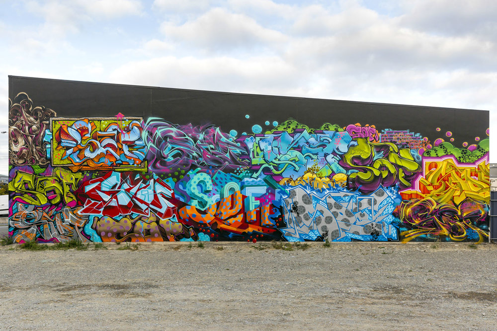 Sofles mural, Spectrum 2015 Christchurch – credit Luke Shirlaw