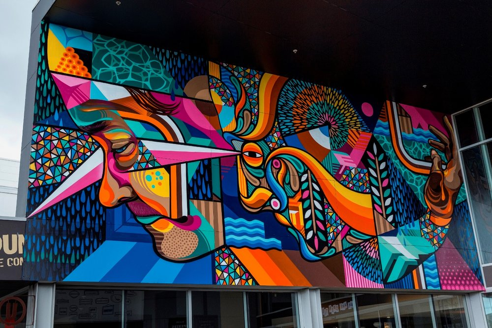Beastman and Vans the Omega mural, Rise 2014 Christchurch – credit Luke Shirlaw