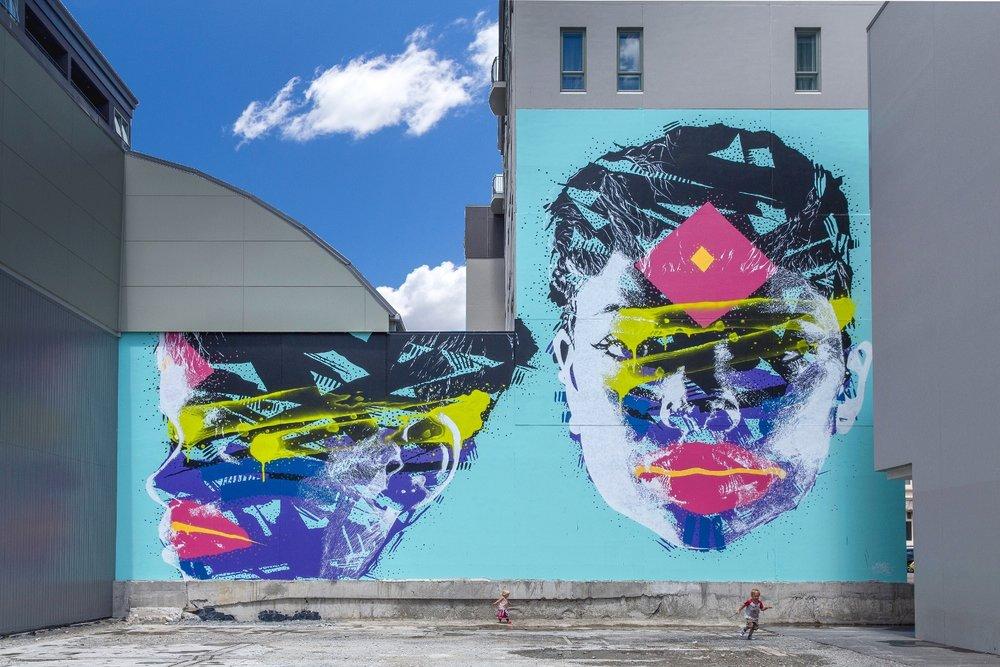 Askew One mural, Rise 2014 Christchurch – credit Luke Shirlaw