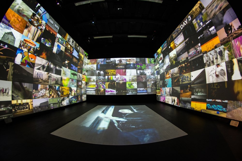 Selina MIles video installation completed 4, Spectrum 2016 Christchurch – credit Digby Shaw