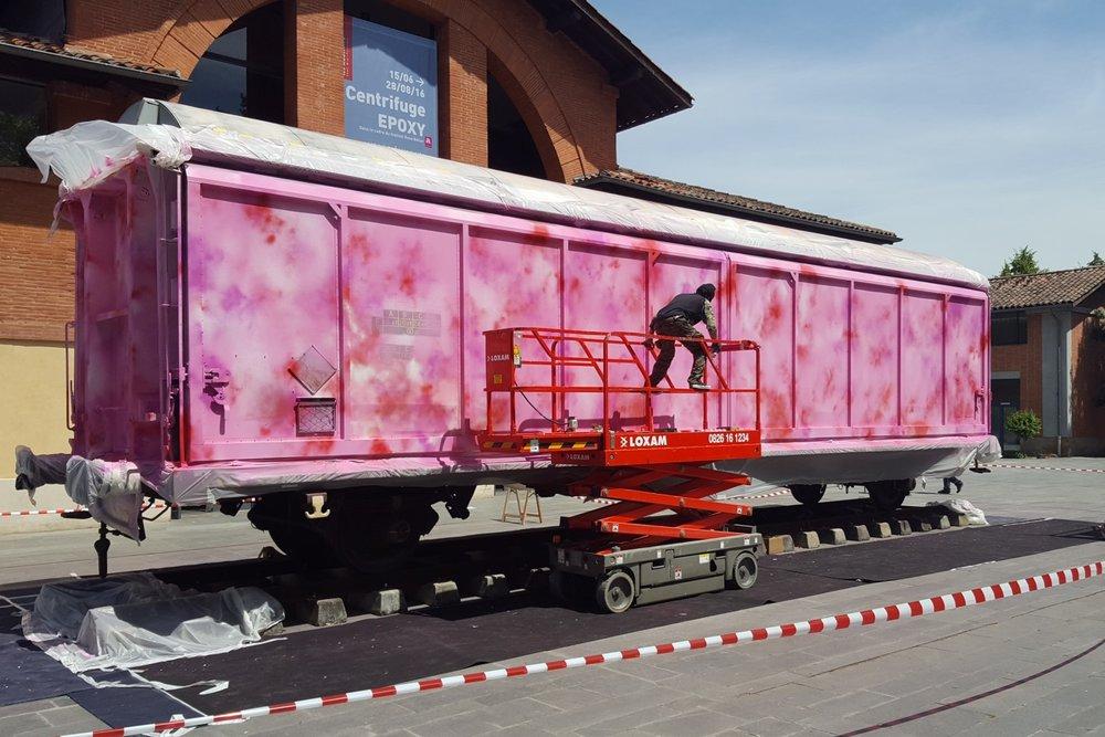 Futura train, Rose Beton 2016 Toulouse