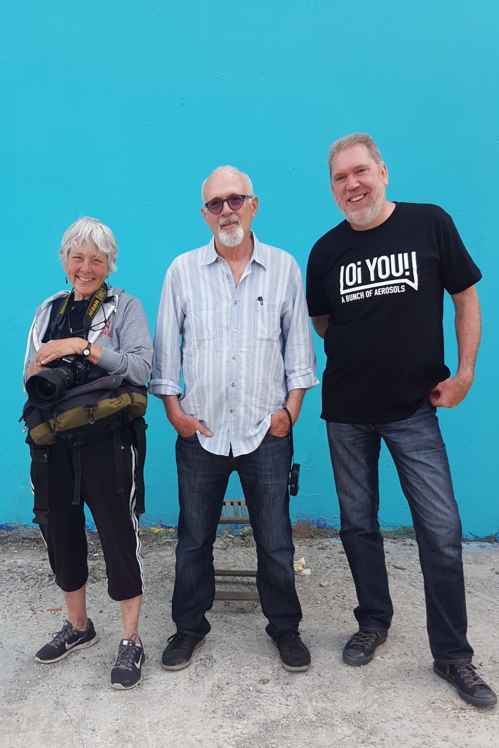 Martha Cooper, Henry Chalfont and George Shaw, Rose Beton 2016 Toulouse