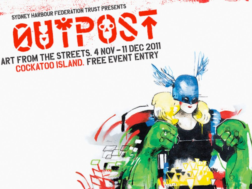 Outpost flyer, Outpost 2011 Sydney