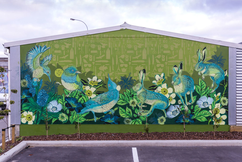 Mural by Flox produced for Spectrum 2015