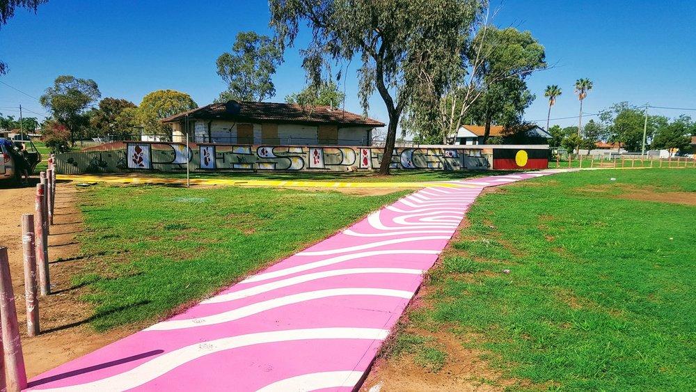 Graffiti Art Moree, NSW Australia