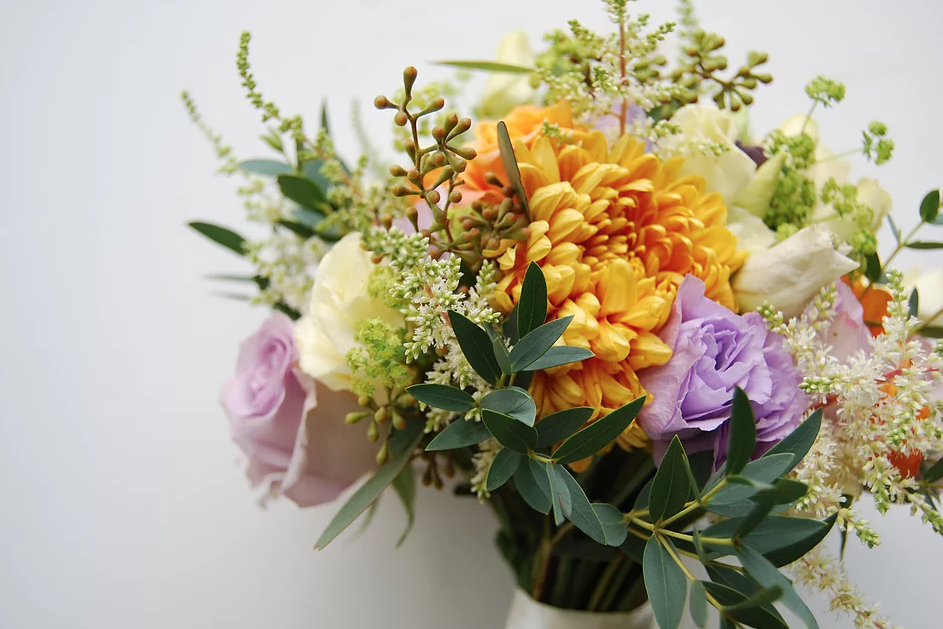 Gorgeous Wedding Flowers, an October Wedding — Urban Flower Farmer