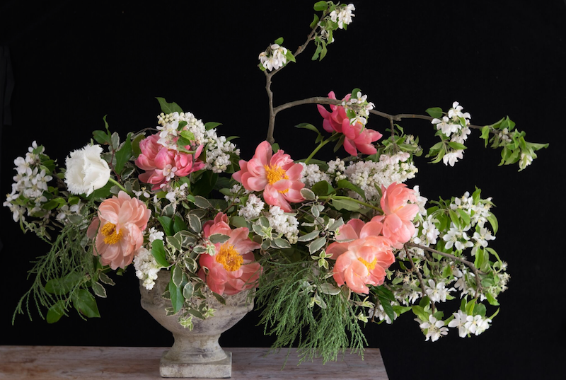 Flowers by Urban Flower Farmer.  Image by  Emma Davies