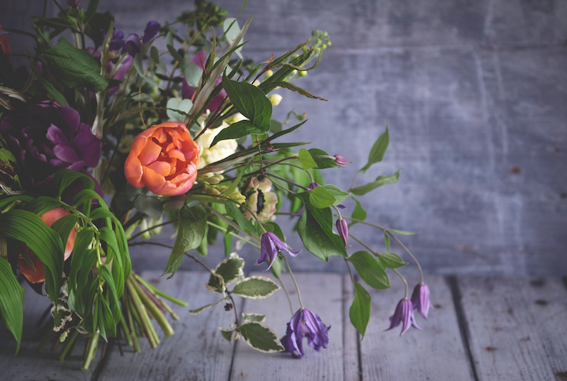 Image by Emma Davies. Flowers by Urban Flower Farmer