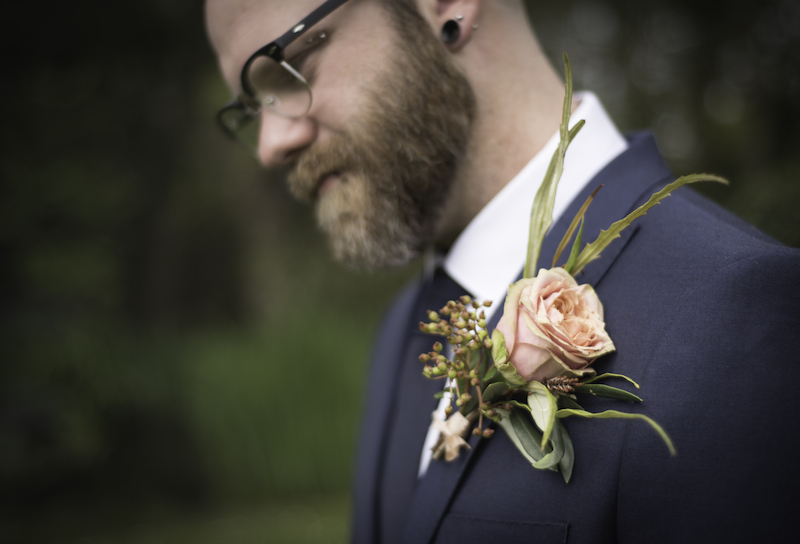 Image by Kim Gunn. Flowers by Urban Flower Farmer. Modelled by Phil