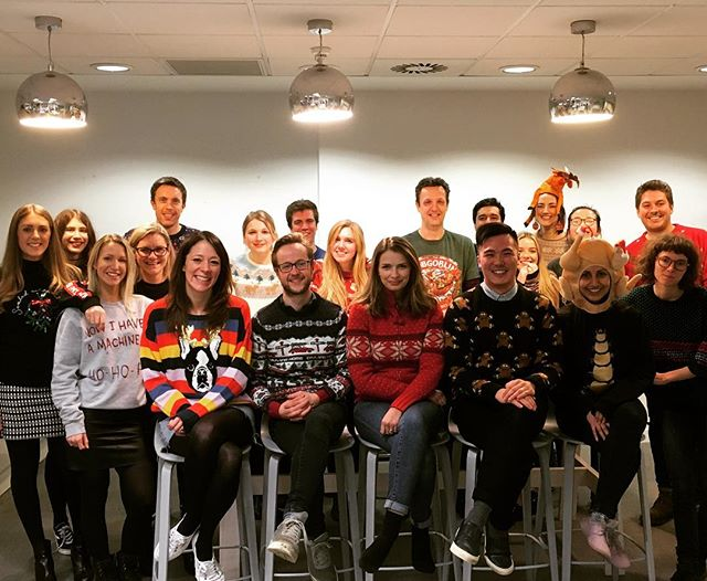 Happy #christmasjumperday  from everyone at #BasisUK; we've knit spared any expense on our woollens and we were jumpering for joy when the mince pies and mulled wine appeared 👌🍷👌 🎅Merry Knitmas!!! Xxx