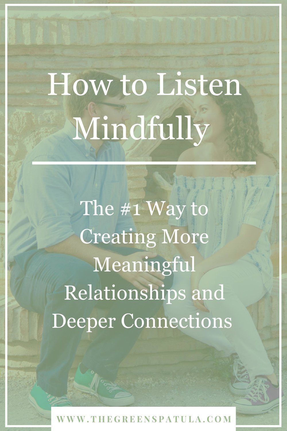 Mindful listening is a powerful communication tool that can help you better understand your husband, wife, boyfriend, girlfriend, co-worker, family, and friends. Avoid misunderstandings and miscommunications by following the simple tips laid out in this post. Click through and enjoy! #relationship #relationshipadvice #mindfulliving #mindfullistening #brainfood #selfdevelopment