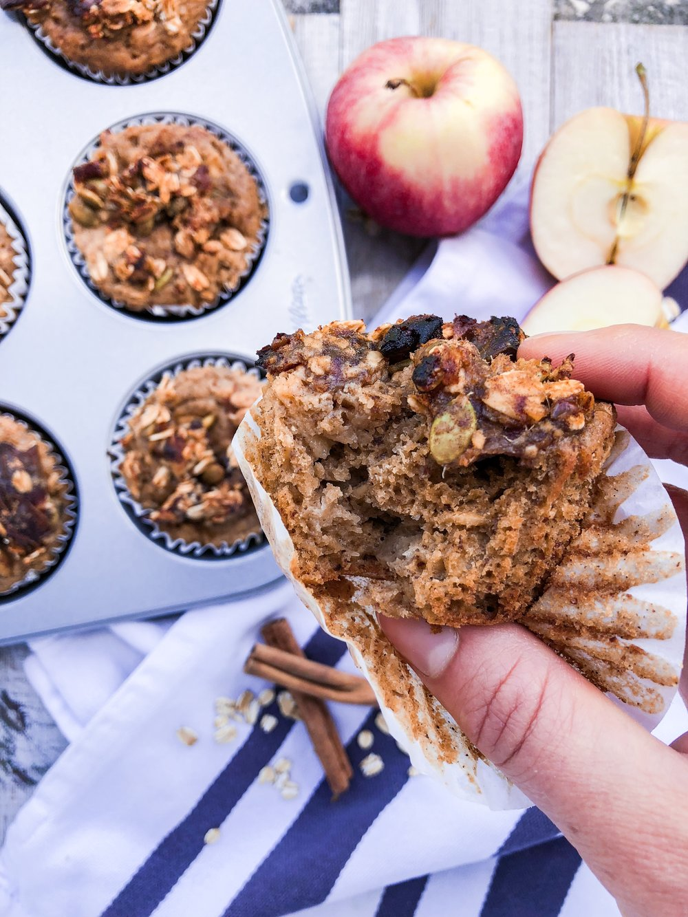 Warm, spicy, and flavorful! These muffins are a must for the fall.