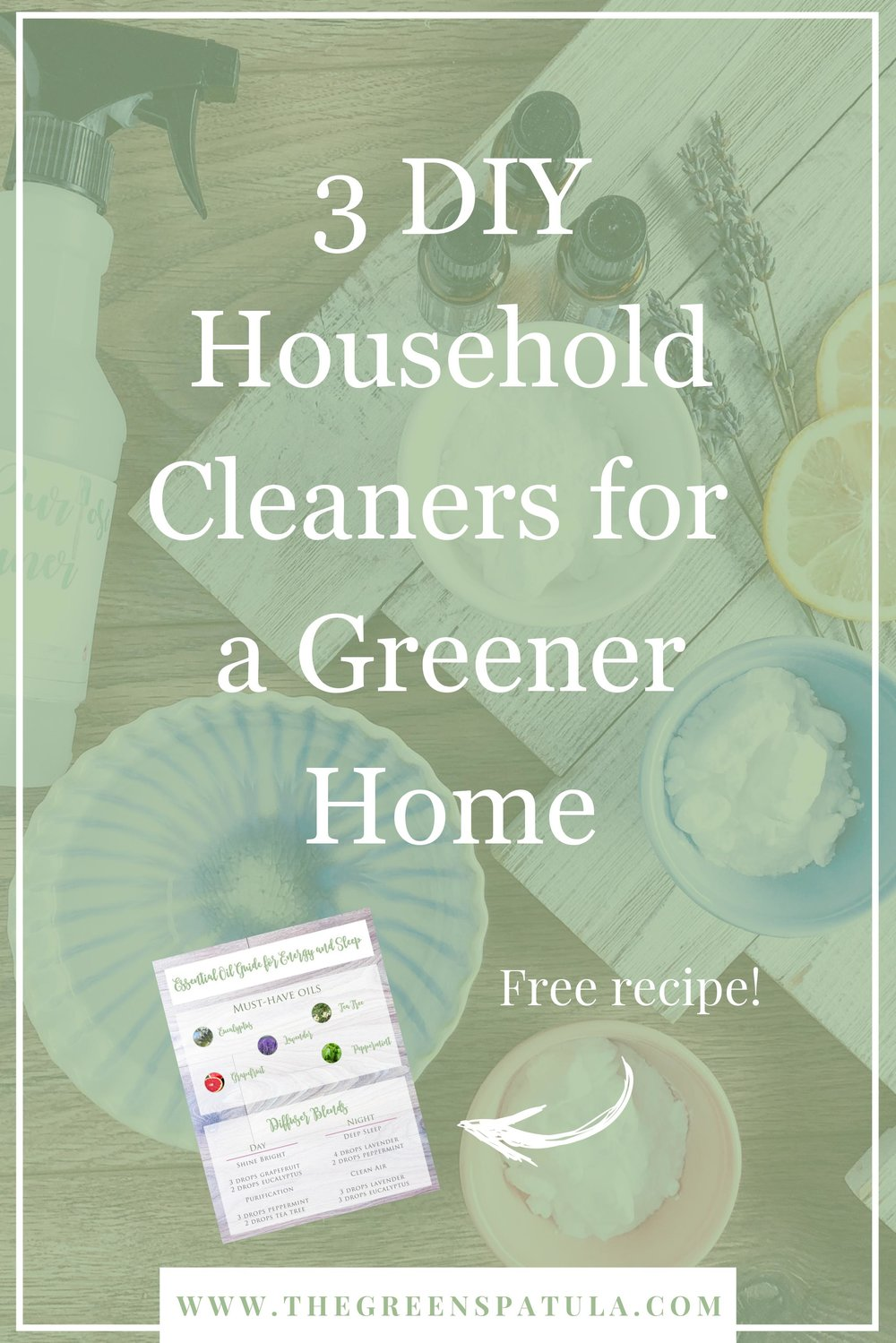 Make powerful cleaners for your home using 3 simple ingredients! These DIY non-toxic and green products that will make your home shine and smell amazing while eliminating harsh chemicals, artificial ingredients, and fragrances. Help keep your family safe and your home clean with the power of natural cleaners. #nontoxic #gogreen #naturalclean #diy #naturalpower
