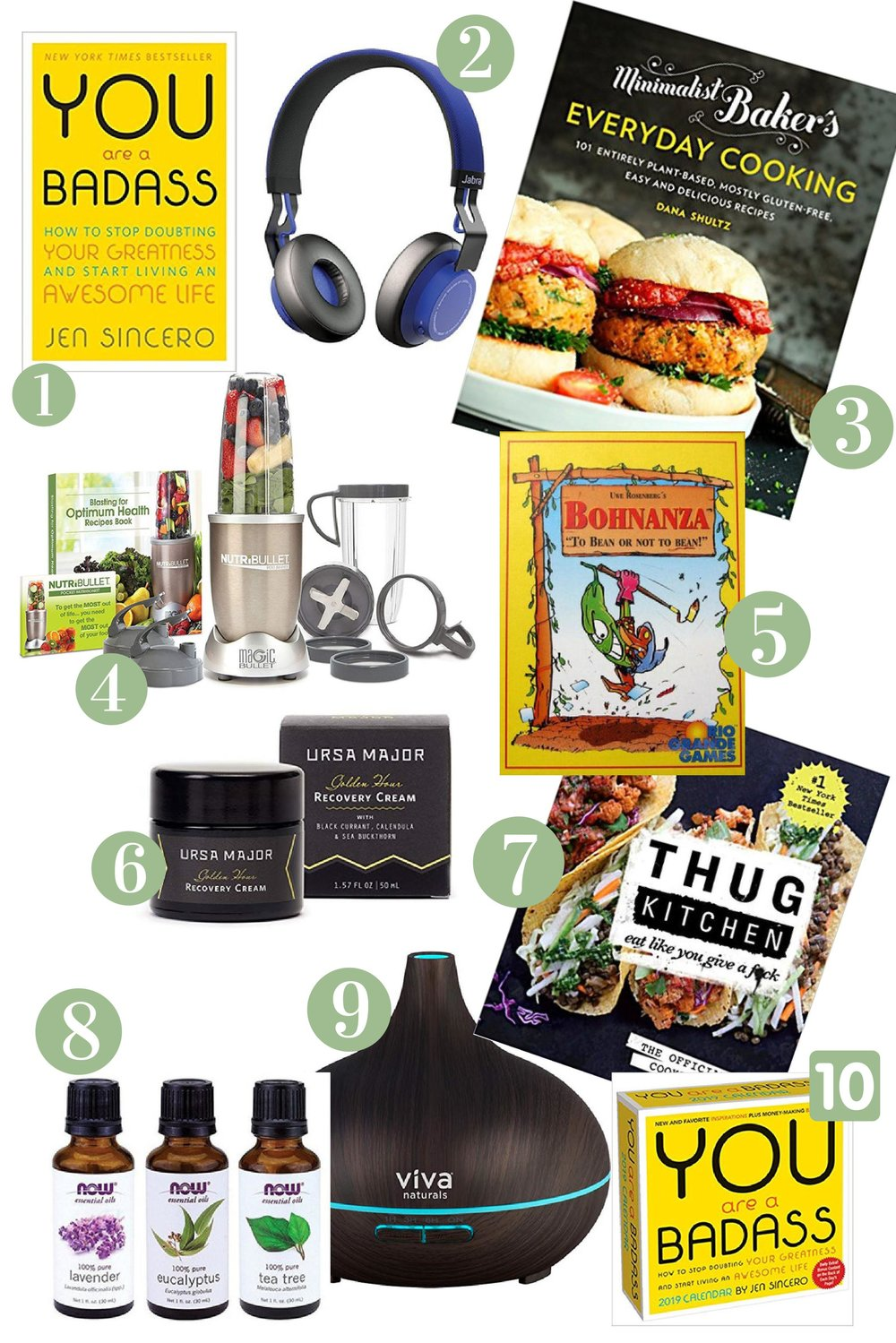 10 LAST minute holiday gifts that'll impress any Scrooge - It's got everything from books and skincare to kitchen gadgets and board games. It has ideas for everyone on your list! 10 gifts that people will actually use and enjoy. you can get these delivered to your house in just 2 days (thanks Amazon) and totally avoid the holiday crowds at the mall. #giftguide #christmas #wellness #vegan #plantbased #vegan #health