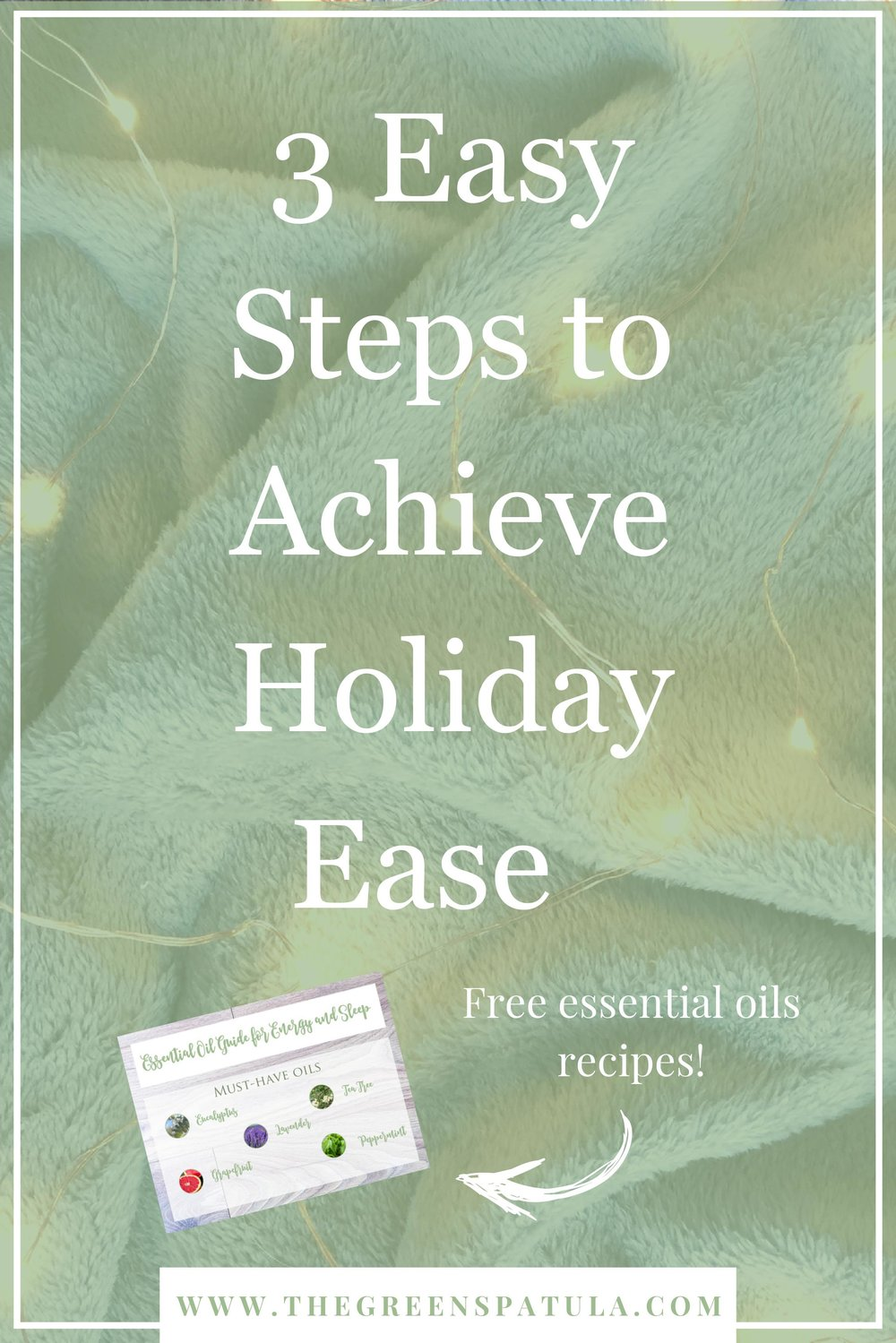 3 easy steps to achieve holiday ease - Let's be real, Christmas is stressful. Whether it's due to financial issues, traveling, family disputes, or staying on track with your health goals, the holidays can test anyone's patience and sanity. To help you de-stress and calm your nerves, I have created a list of 3 simple steps to help you out this holiday season. #stressfree #christmas #essentialoils #youngliving #managestress #holiday