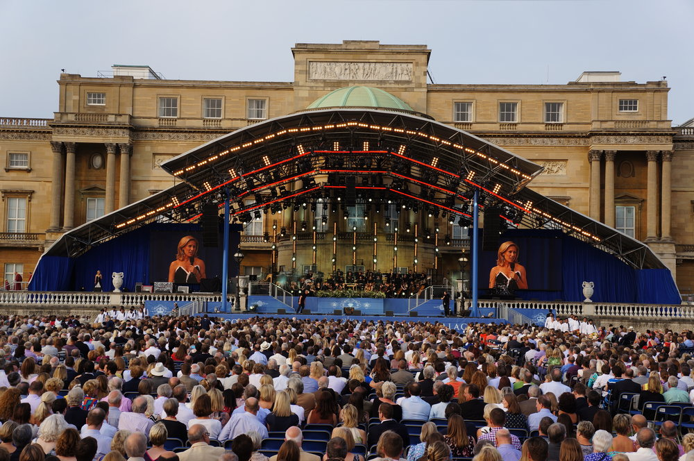 Coronation Gala Buckingham Palace Stage.JPG