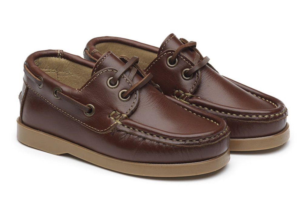 La Coqueta brown boat shoes, £52