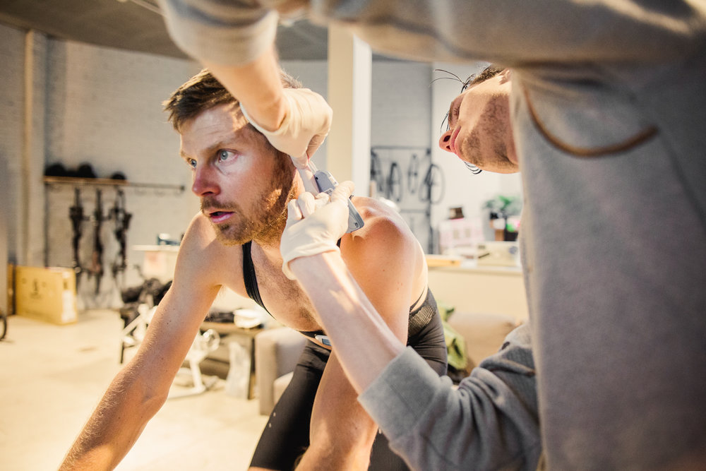 Lactate Testing - Let's find out exactly where you stand and how you can improve with our lactate test. Executed in-shop by the pros at Robic and includes full lactate and body composition report!Price €180