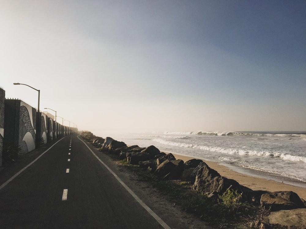 Those California beaches.