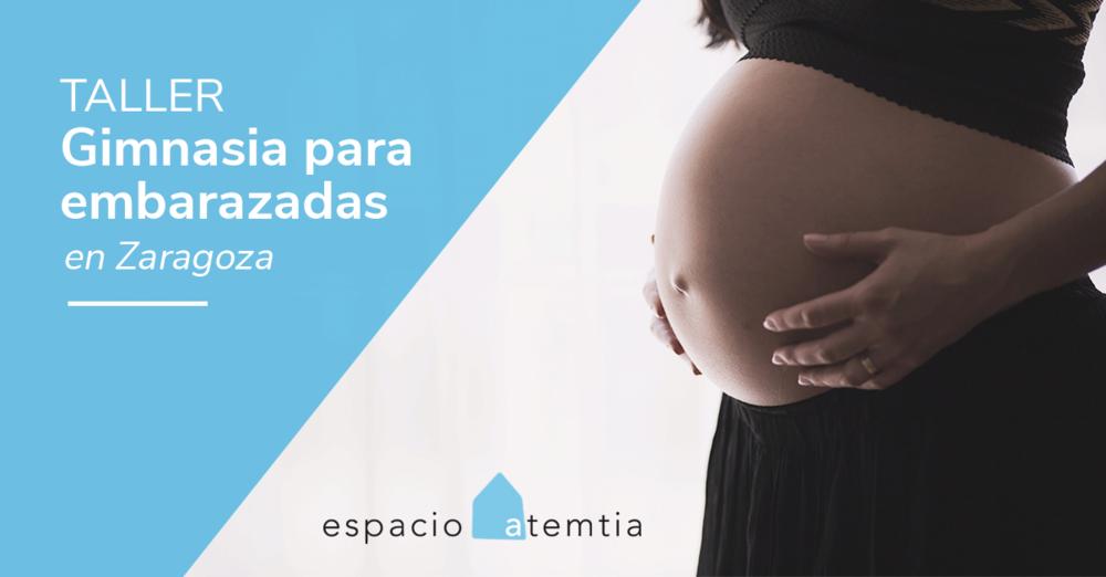 Gimnasia para embarazadas en Zaragoza