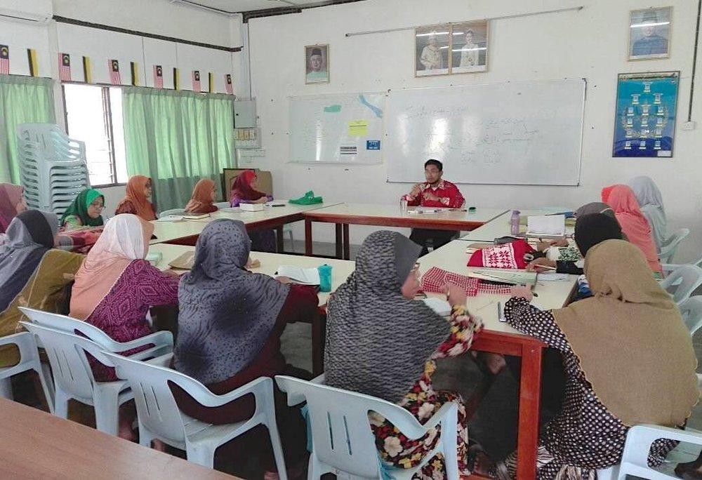Kelas Pengajian Bahasa Arab(Al-Quran) - Menerapkan pembalajaran Bahasa Arab yang bermatlamat untuk memahami kandungan dan khasiat Al-Quran.