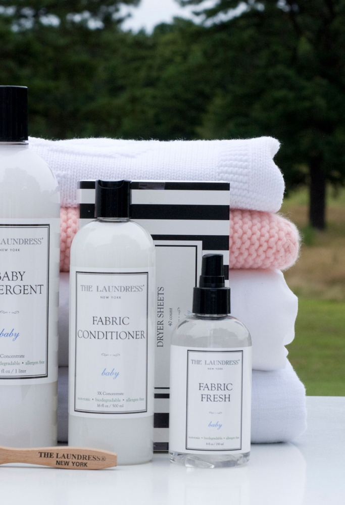 "THE LAUNDRESS - THE LAUNDRESS is a line of luxury ecological cleaning products.In the words of founders, Gwen and Lindsey: ""We're an eco-friendly line of detergent, fabric care, and home-cleaning products that take excellent care of you, the things you love, and the environment.""With a background in textiles, these two women discovered there are better ways of taking care of your clothes than using chemicals and running up large bills at the dry-cleaners. They developed this unique range of excellent products and tested it themselves.For all of your washing needs, they have a product ranging from your every-day laundry to silks, cashmeres and your baby's softest clothes. We're a huge fan!"