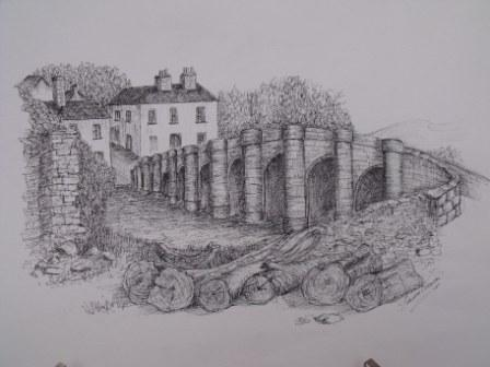 Old Bridge Carrick. Sandra Vernon.JPG