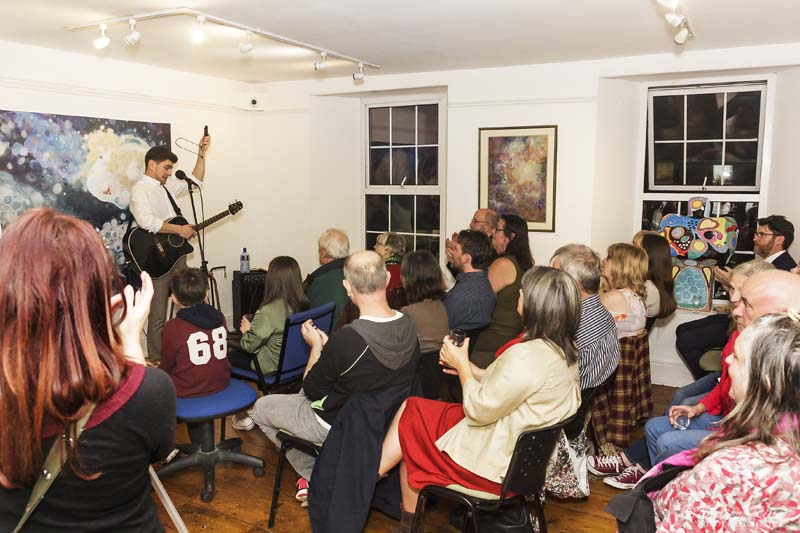 Great Night at the Solas Gallery Culture Night Sept 22nd 2017 -