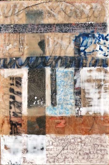 Another chapter. Wax & Pigment monotype with encaustic by Niamh O'Connor - Copy.jpg