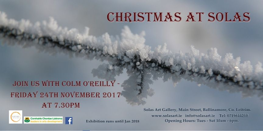 christmas group exhibition 2017 -