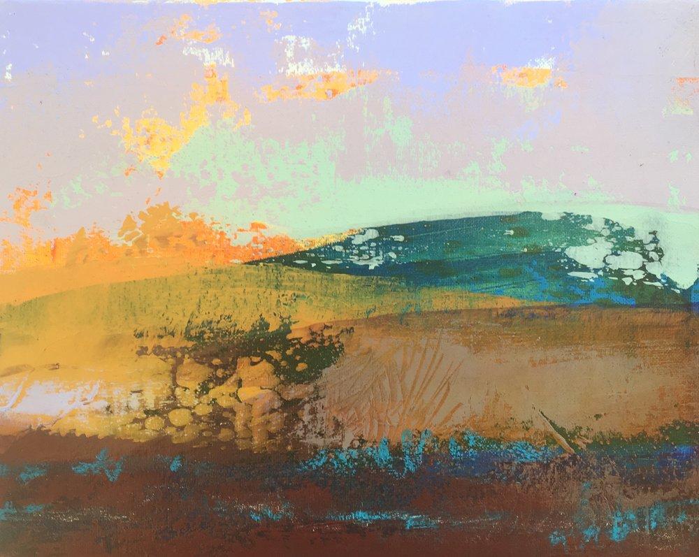 _Daybreak Plains_ 20x25cms, acrylic on canvas.jpg