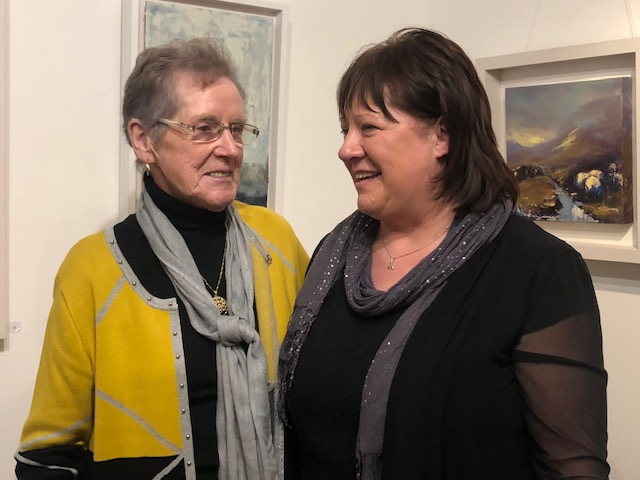 Marian O'Donoghue & Rosemarie Langtry at Solas Art Gallery 12.jpg