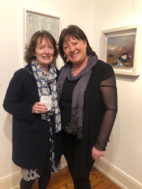 Marian O'Donoghue & Rosemarie Langtry at Solas Art Gallery.jpg 2.jpg