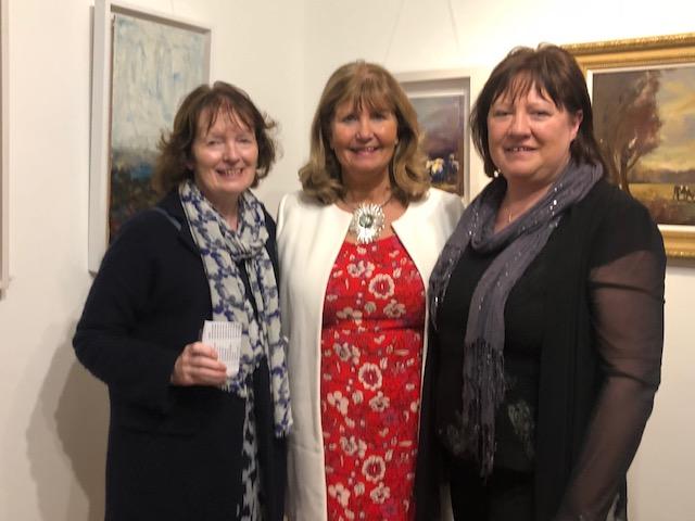 Marian O'Donoghue, Mary Carleton Reynolds & Rosemarie Langtry Solas Art Gallery.jpg