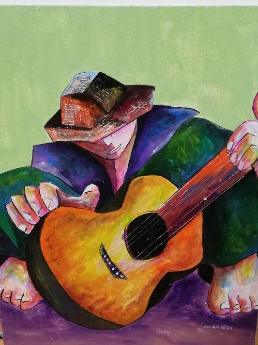 Sweet Rhythm, Marvin Baldemor, Acrylic .jpg