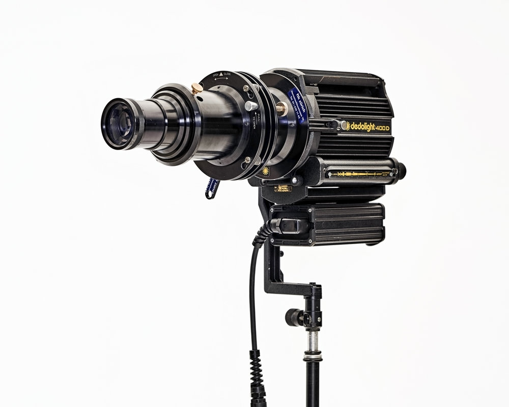 Tageslicht HMI Vorsatzlinse – Plankonvex – zu 400W Dedo    Bild: Antonino Panté