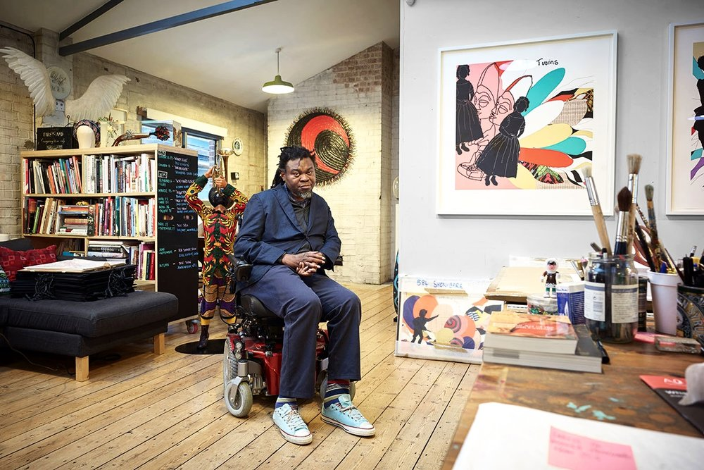 IN THE STUDIO - Contemporary Artist Yinka Shonibare MBE in Conversation at his Private Studio