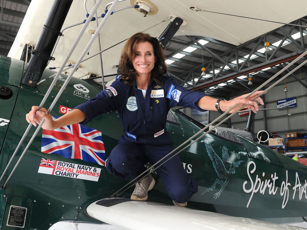 THE AVIATRIX - An Audience With Tracey Curtis Taylor, Britain's Acclaimed Female Aviator and Adventurer