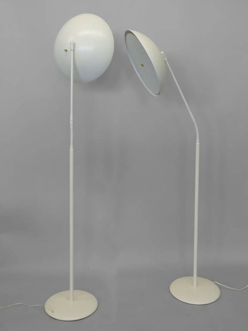 Pair of Gerald Thurston for Lightolier Floor Lamps — TOM GIBBS STUDIO