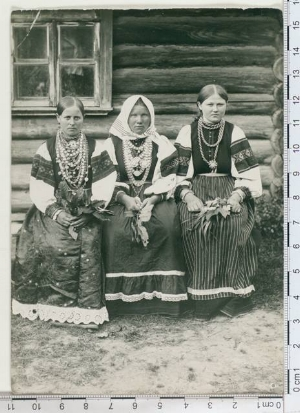 - The lovely ladies captured by Johannes Pääsuke in 1912. Estonian National Museum (Eesti Rahva Muuseum), Photo Collection.